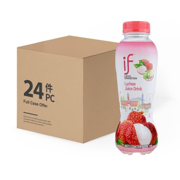 iF - Lychee Juice Drink With Aloe Vera Case - 350MLX24