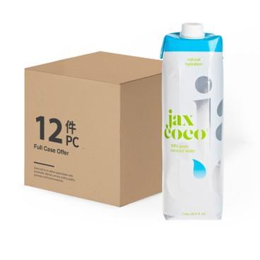 JAX COCO - 100 Pure Coconut Water - 1LX12
