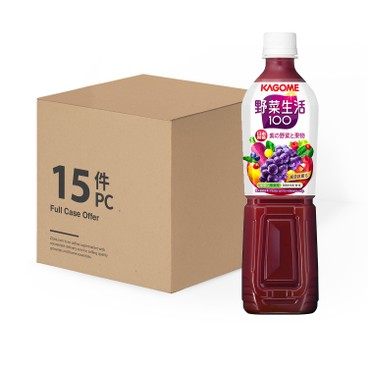 KAGOME - 提子混合汁-原箱 - 720MLX15