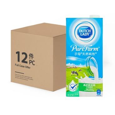 子母 - 天然純牧高鈣較低脂牛奶飲品-原箱 - 946MLX12