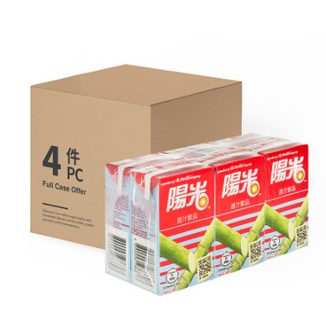 HI-C - Sugarcane Juice Drink case Offer - 250MLX6X4