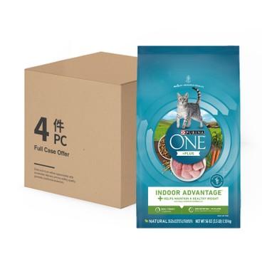 ONE - 乾貓糧 - 室內去毛球配方 - 原箱 - 3.5LBX4