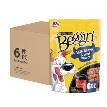 BEGGIN STRIPS - Bacon Beef Case - 6OZX6