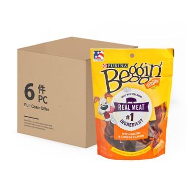 BEGGIN STRIPS - Bacon Cheese Case - 6OZX6