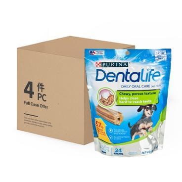 DENTALIFE - 潔齒棒 - 迷你犬(24條裝) - 原箱 - 6.8OZX4