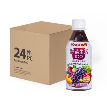 KAGOME - Grape Mixed Juice Case - 280MLX24