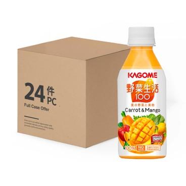KAGOME - 芒果混合汁 -原箱 - 280MLX24