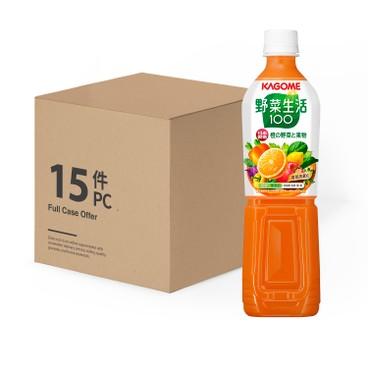 KAGOME - Carrot Mixed Juice Case - 720MLX15