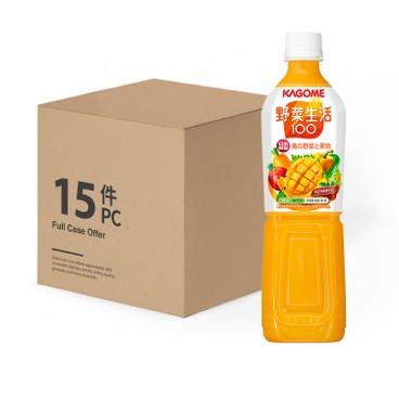 KAGOME - Mango Mixed Juice Case - 720MLX15