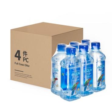 AQUA PACIFIC 太平洋水 - 天然礦泉水 -原箱 - 330MLX6X4