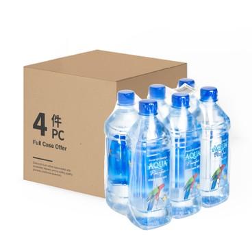 AQUA PACIFIC 太平洋水 - 天然礦泉水 -原箱 - 600MLX6X4