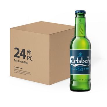 嘉士伯 - 啤酒-0.0% (無酒精)-原箱 - 330MLX24
