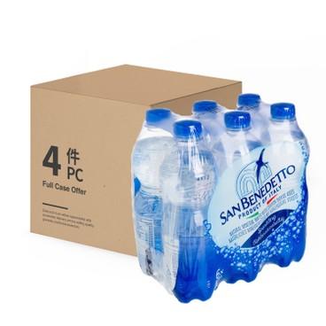 SAN BENEDETTO 聖碧濤 - 有汽礦泉水-原箱 - 500MLX6X4