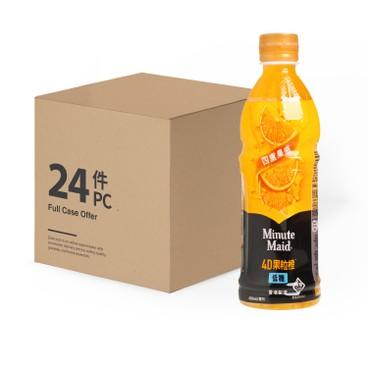 MINUTE MAID - Four Fruity Sensations Orange Juice Drink Case - 420MLX24