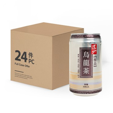 道地 - 極品烏龍茶(罐裝)-原箱 - 340MLX24