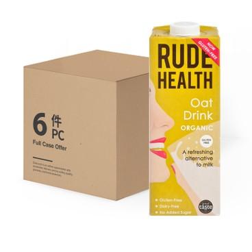 RUDE HEALTH (平行進口) - 有機燕麥素奶-原箱 - 1LX6
