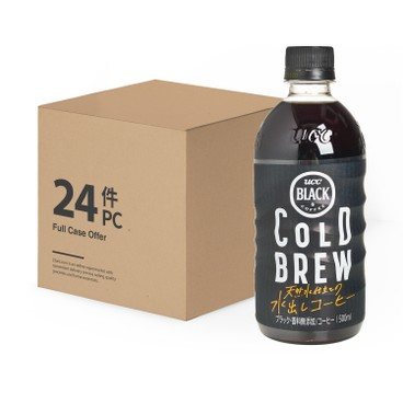 UCC - Black Cold Brew Pet Case - 500MLX24