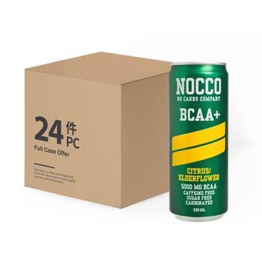 NOCCO - Citrus Elderflower Case - 330MLX24
