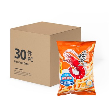 CALBEE - Prawn Crackers bbq Flavour case - 40GX30