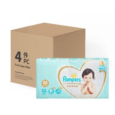 PAMPERS幫寶適 - 日本進口一級幫紙尿片(中碼) - 原箱 - 52'SX4