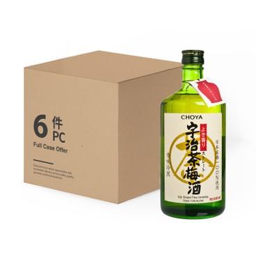CHOYA 蝶矢 - 宇治茶梅酒-原箱 - 720MLX6