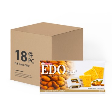 EDO PACK - Almond Cracker case - 133GX18