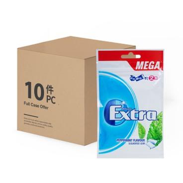 益達 - 無糖香口珠-強勁薄荷味(補充裝)-原箱 (新舊包裝隨機) - 54'SX10