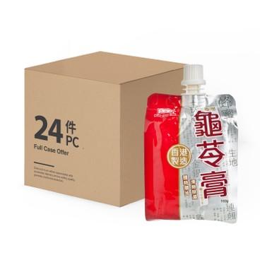 鴻福堂 - 唧唧龜苓膏-原箱 - 160GX24