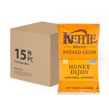 KETTLE - Chips Honey Dijon case - 5OZX15