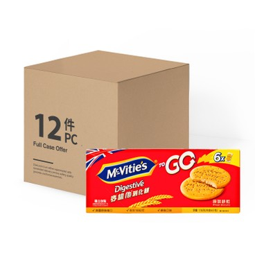 MCVITIE'S - To Go Original case - 176GX12
