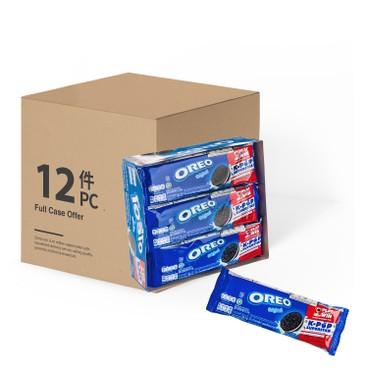 OREO - Vanilla Sandwich Cookies case - 352.8GX12