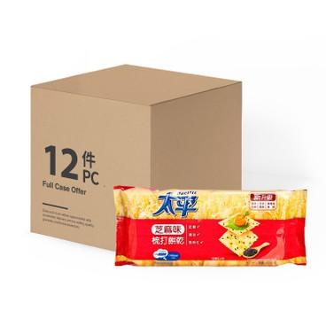 太平 - 梳打餅-芝蔴味-原箱 - 300GX12