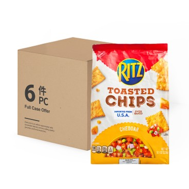 RITZ - Toasted Chips cheddar case - 229GX6