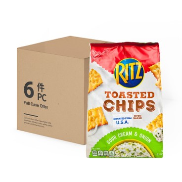 RITZ - Toasted Chips sour Cream Onion case - 229GX6