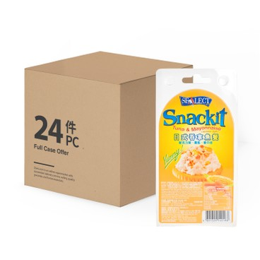 SEALECT - Tuna Snackit Japanese Style case - 85G+18GX24