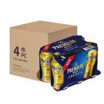 三得利 - 頂級啤酒-原箱 - 350MLX6X4