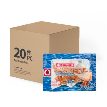 SZE HING LOONG - Ladybird Dried Seasoned Cuttlefish case - 21GX20