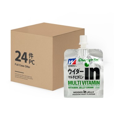 WEIDER IN JELLY - Jelly multivitamin In case Offer - 180GX24