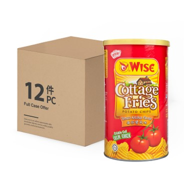 WISE - TOMATO POTATO CHIPS-CASE - 100GX12
