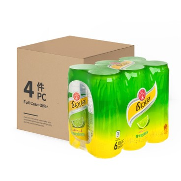 SCHWEPPES(PARALLEL IMPORT) - Thai Limited Sparkling Manao Soda case - 330MLX6X4