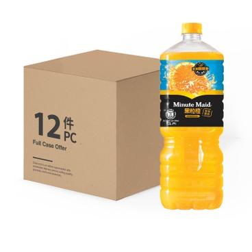 MINUTE MAID - Orange Juice Drink case - 1.2LX12