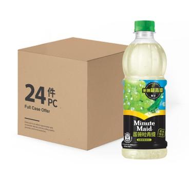 MINUTE MAID - White Grape Drink case - 420MLX24