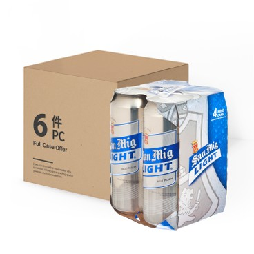 SAN MIGUEL - Light Pale Pilsen case - 500MLX4X6