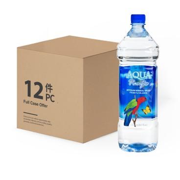 AQUA PACIFIC 太平洋水 - 天然礦泉水-原箱 - 1.5LX12