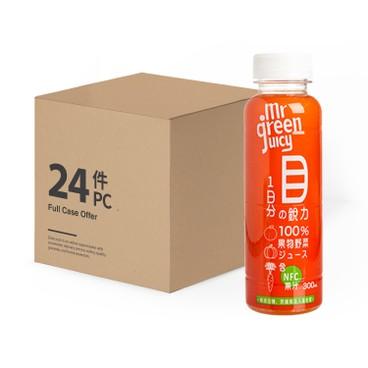MR GREEN JUICY - 100 Carrot Pumpkin Orange case - 300MLX24