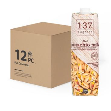 137 DEGREES - Pistachio Milk original case Offer - 1LX12