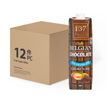 137 DEGREES - Pistachio Milk belgian Chocolate case Offer - 1LX12