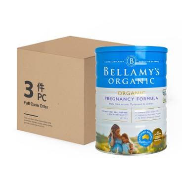 貝拉米 - 有機孕產婦配方奶粉 - 原箱 - 900GX3
