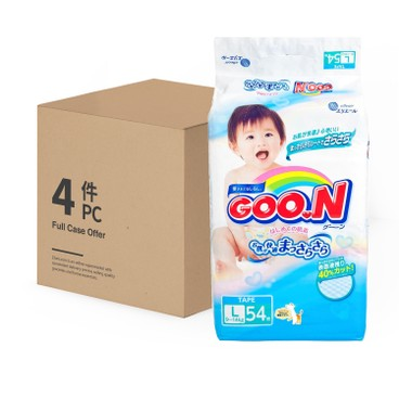 GOO.N - Diapers L Size Case - 54'SX4