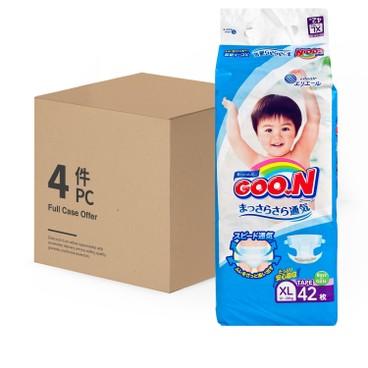GOO.N大王(香港行貨) - 紙尿片(加大碼) - 原箱 - 42'SX4